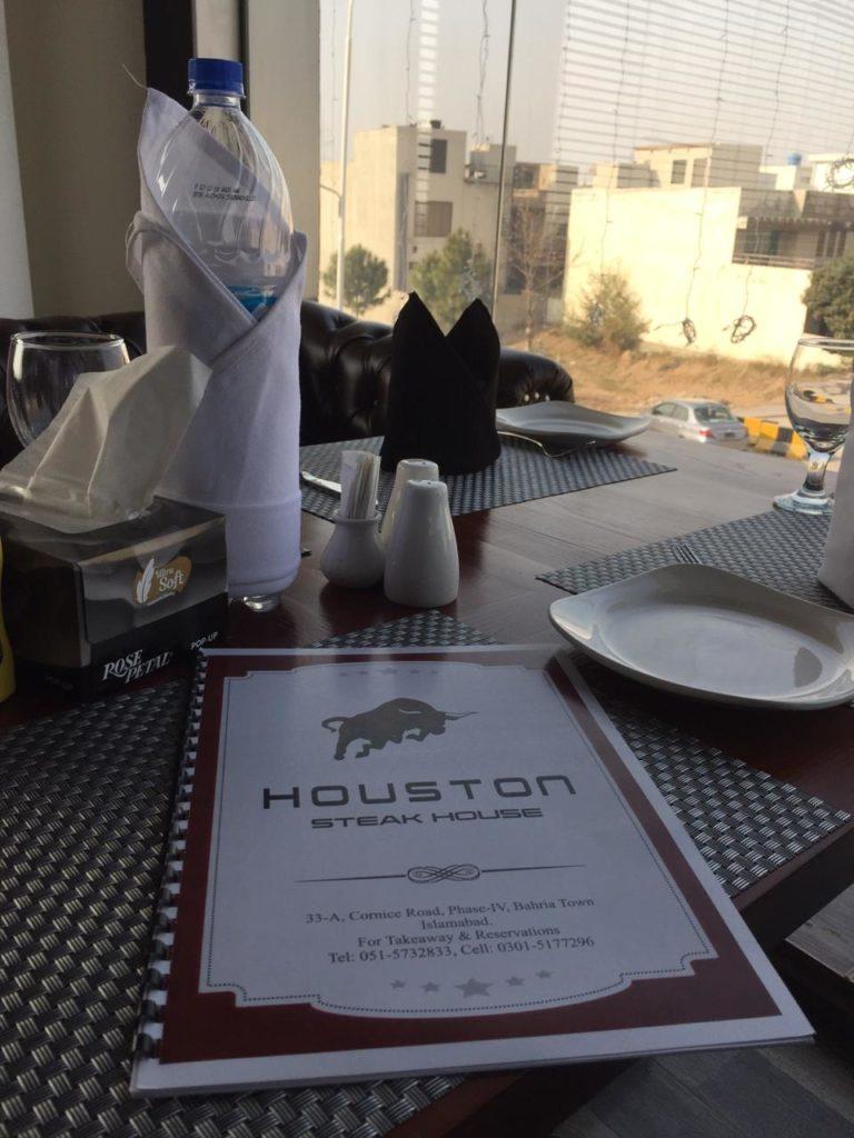 "Detailed review on the amazing ""Houston steak house"" |Phase-4 Bahria Town, Rawalpindi"