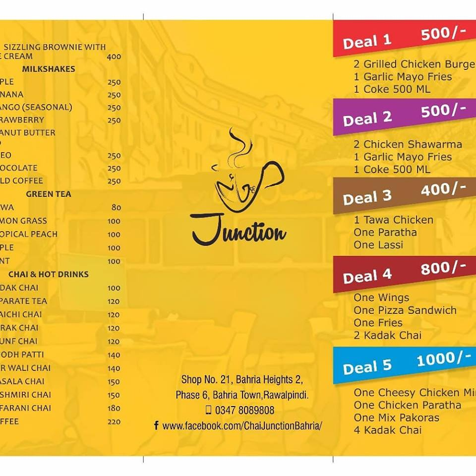 Chai Junction deals