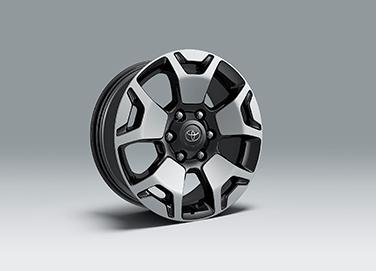 revo wheel size Hilux tyre size
