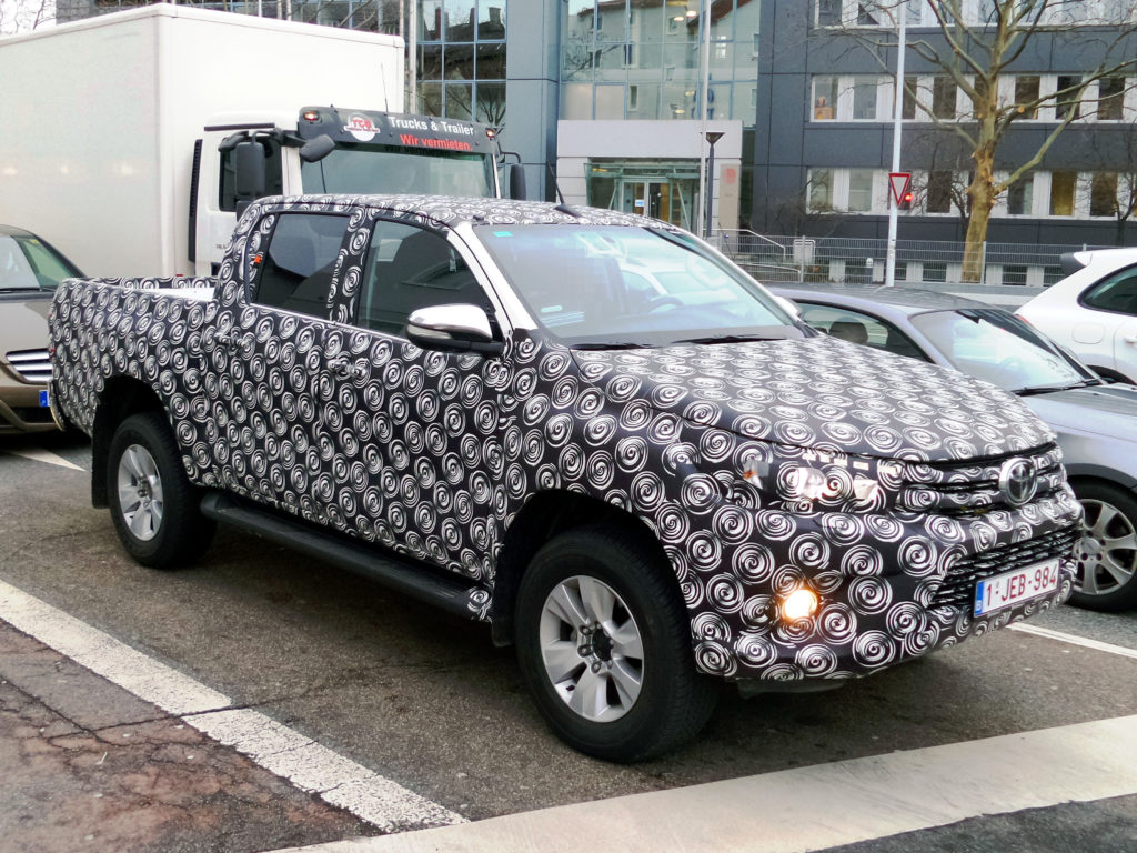Toyota Hilux Revo custom wrap modified