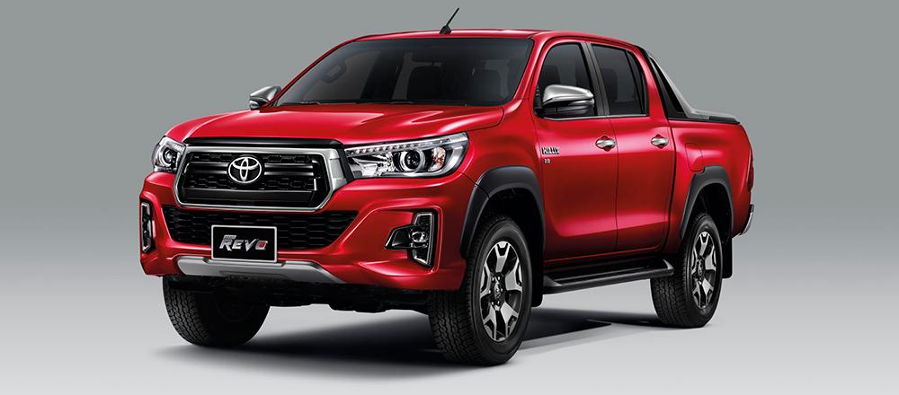 Toyota hilux Red Revo Daala